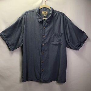 Jamaica Jaxx Silk Men's Button Short Sleeve